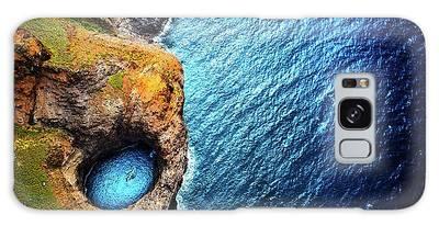 Na Pali Coast Kauai Galaxy Case
