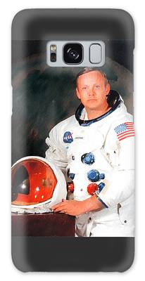 Galaxy Case featuring the photograph Neil Armstrong by Ericamaxine Price