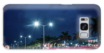 Night Lights In Montego Bay City Galaxy Case