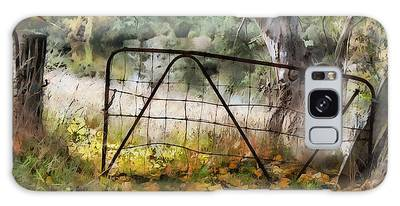Old Farm Gate Galaxy Case