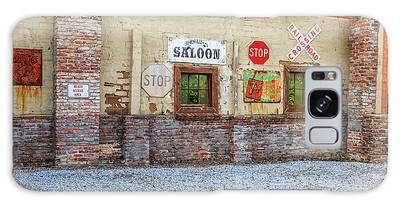 Old Saloon Wall Galaxy Case