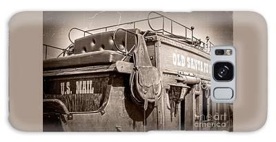 Old Santa Fe Stagecoach Galaxy Case