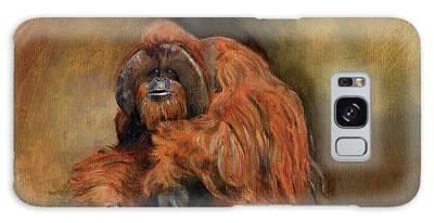 Orangutan Galaxy Cases