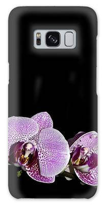 Orchid Blooms Galaxy Case