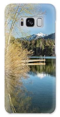 Ouray County Postcard Scene Galaxy Case