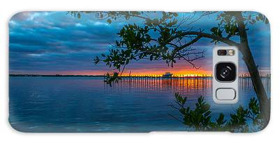 Galaxy Case featuring the photograph Overcast Sunrise by Tom Claud