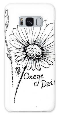 Oxeye Daisy Galaxy Case