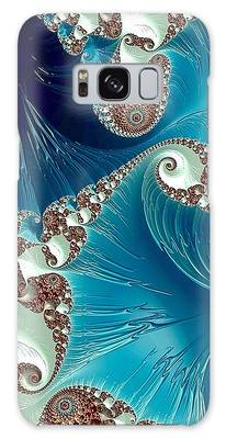 Galaxy Case featuring the digital art Pacifica by Susan Maxwell Schmidt