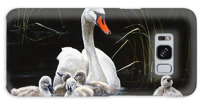 Gosling Paintings Galaxy Cases