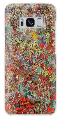 Abstract Expressionism Galaxy Cases