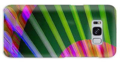 Galaxy Case featuring the digital art Paintbrushes by Visual Artist Frank Bonilla