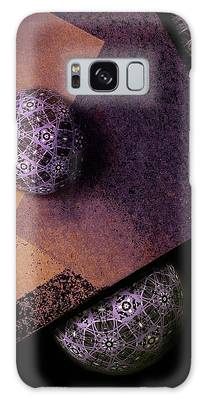 Galaxy Case featuring the digital art Paragon by Susan Maxwell Schmidt