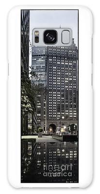 Park Avenue Met Life Nyc Galaxy Case by Juergen Held