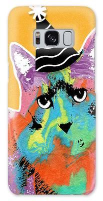 Kittens Mixed Media Galaxy S8 Cases