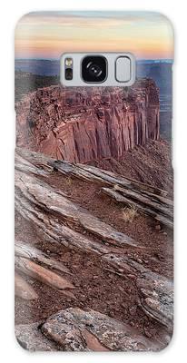 Peaceful Canyon Morning Galaxy Case