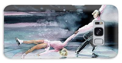Olympic Figure Skating Paintings Galaxy Cases