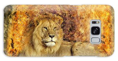 Galaxy Case featuring the photograph Pieces Of A Lion by Ericamaxine Price