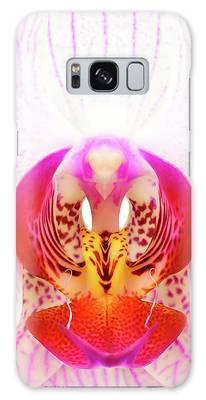 Orchid Macro Galaxy Cases