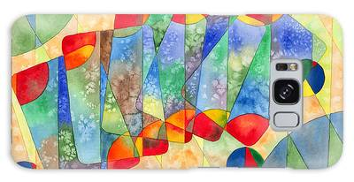 Poker Abstract Watercolor Galaxy Case