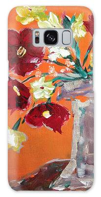Poppies Paintings Galaxy Cases