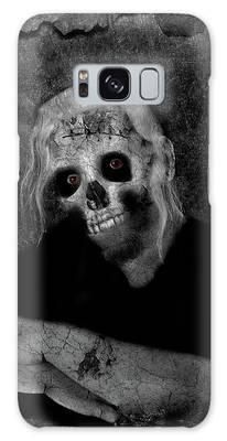 Portrait Of A Zombie Galaxy Case