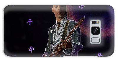 Galaxy Case featuring the photograph Prince At Coachella by Ericamaxine Price