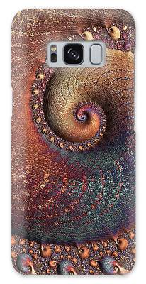 Galaxy Case featuring the digital art Relic by Susan Maxwell Schmidt