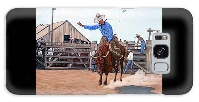 Ride 'em Cowboy Galaxy Case