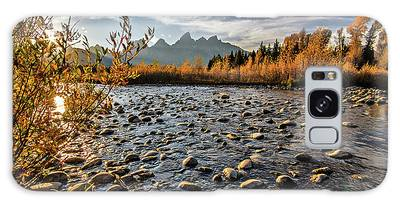 River In The Tetons Galaxy Case