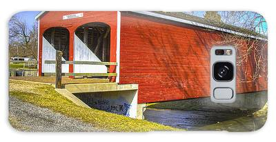 Roberts Covered Bridge Galaxy Case