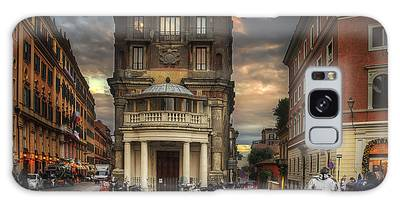 Galaxy Case featuring the photograph Roman Streets by Ryan Wyckoff