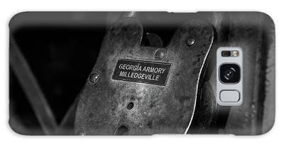 Rusty Lock In Bw Galaxy Case