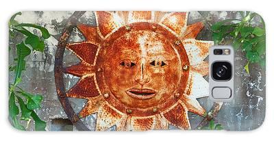 Rusty Sun Galaxy Case