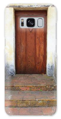 Sacred Heart Door Galaxy Case