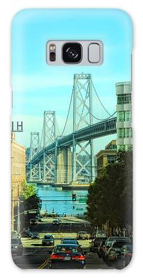 San Francisco Street Galaxy Case