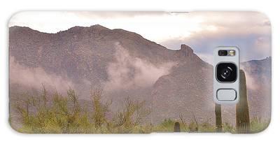 Santa Catalina Mountains II Galaxy Case