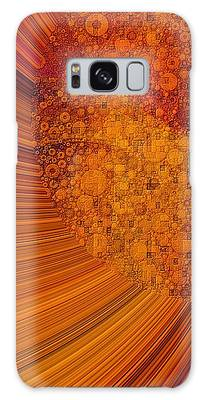 Galaxy Case featuring the digital art Saturated In Sun Rays by Susan Maxwell Schmidt