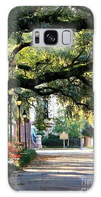 Savannah Park Sidewalk Galaxy Case