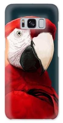 Macaws Galaxy Cases