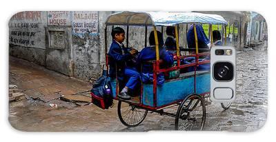 School Cart Galaxy Case