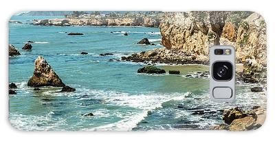 Sea And Cliffs Galaxy Case