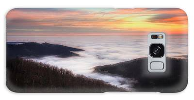 Galaxy Case featuring the photograph Sea Of Clouds by Ryan Wyckoff