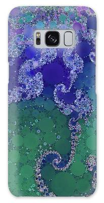 Galaxy Case featuring the digital art Sea Star by Susan Maxwell Schmidt