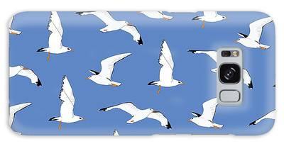 Seagulls Galaxy Cases