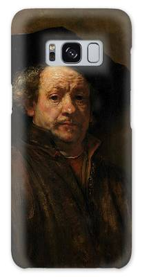 Painting - Self-portrait By Rembrandt by Rembrandt van Rijn