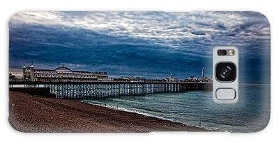 Seven Am On Brighton Seafront Galaxy Case