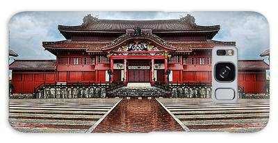 Galaxy Case featuring the photograph Shuri Castle by Ryan Wyckoff