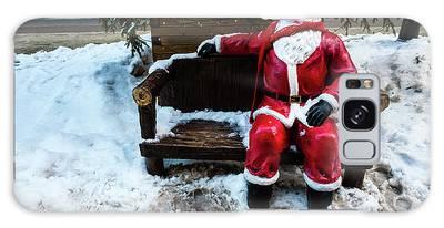 Sit With Santa Galaxy Case
