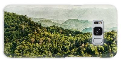 Smoky Mountain Reflections Galaxy Case