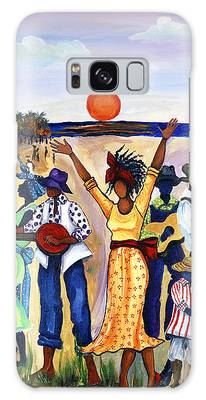 African American Paintings Galaxy Cases